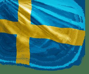 Флаг страны Швеция