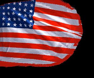 Флаг страны США