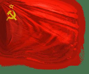 Флаг страны СССР