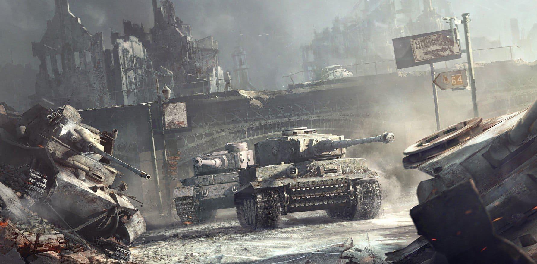 """Картинка в статье В игре World of tanks тестируется новая итерация в режиме """"Схватка"""""""